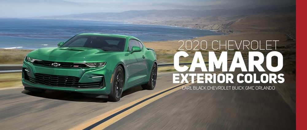 New Camaro 2020 2020 Chevrolet Camaro Color Options   Carl Black Orlando