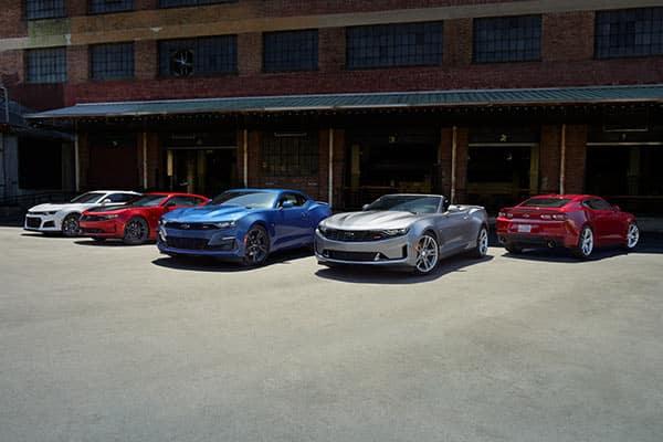 2020 Chevrolet Camaro Colors Lineup