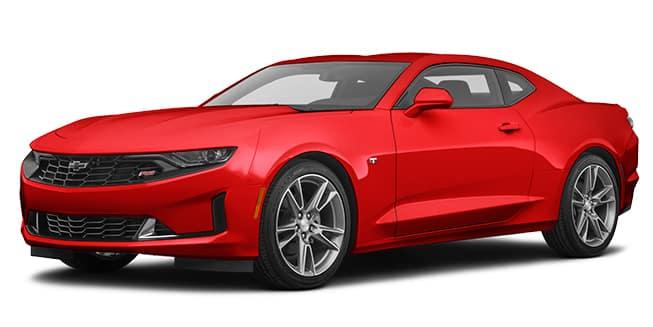 2020 Chevrolet Camaro Red Hot Color
