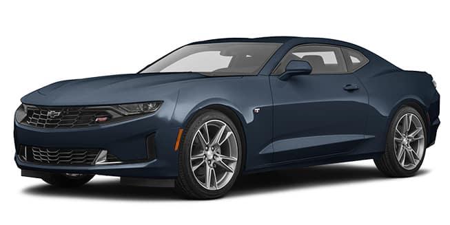 2020 Chevrolet Camaro Shadow Gray Metallic Color