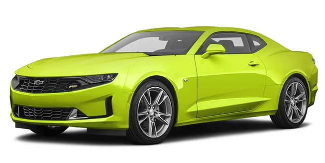 2020 Chevrolet Camaro Shock Color