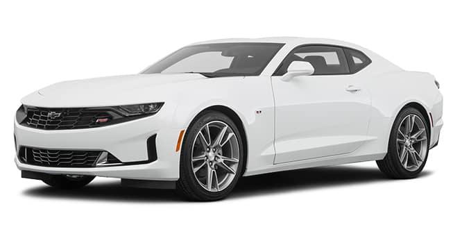 2020 Chevrolet Camaro Summit White Color