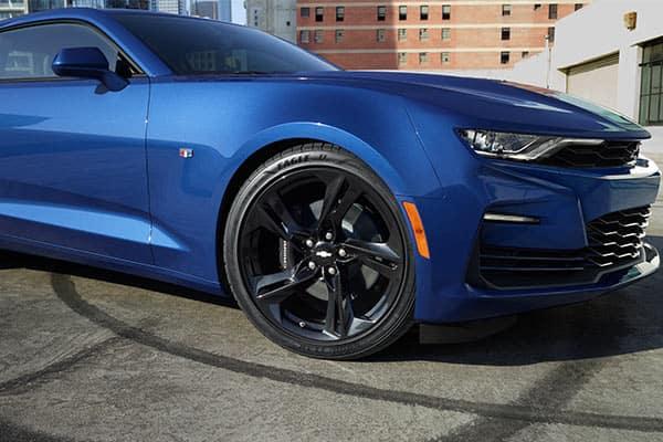 2020 Chevrolet Camaro in Riverside Blue Metallic Color