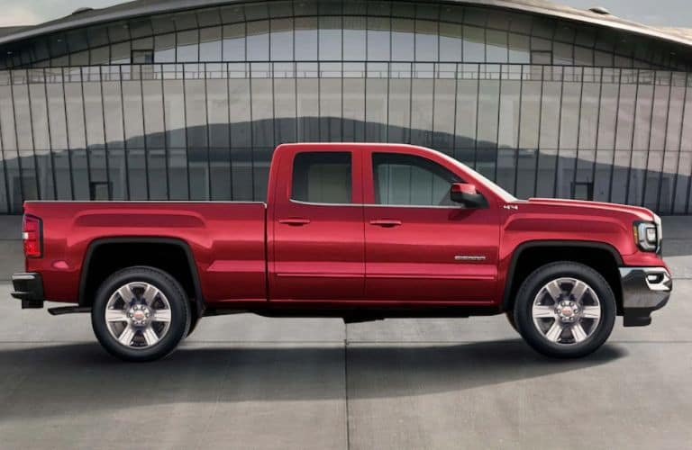 Red 2019 GMC Sierra 1500 Limited