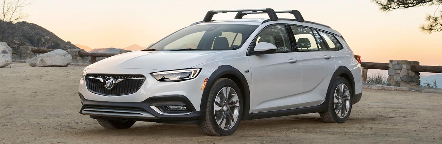 White 2019 Buick Regal TourX