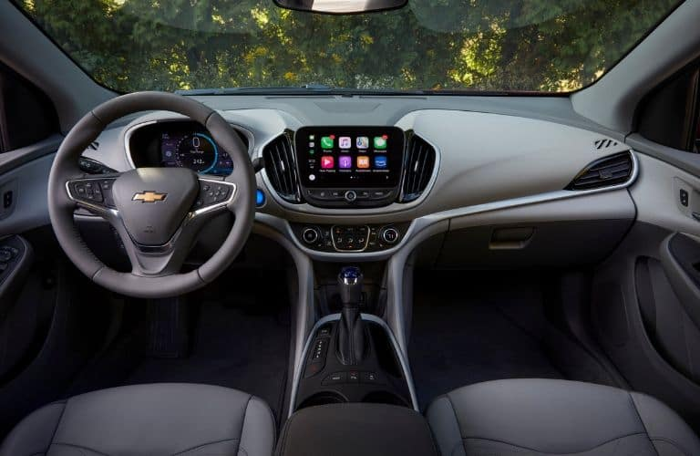Interior view of 2019 Chevrolet Volt