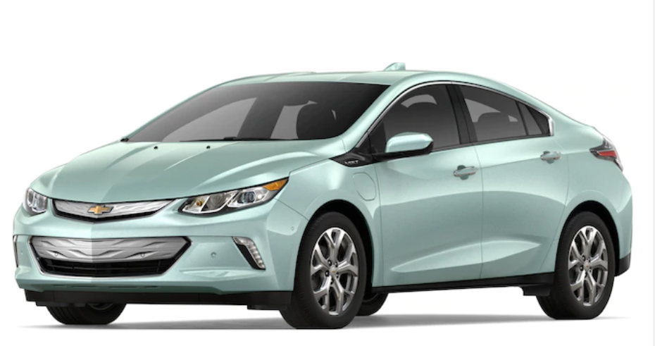 2019 Chevrolet Volt in Green Mist Metallic