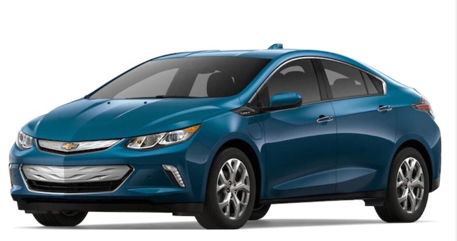 2019 Chevrolet Volt in Pacifica Blue Metallic