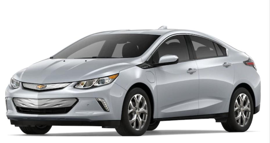 2019 Chevrolet Volt in Silver Ice Metallic