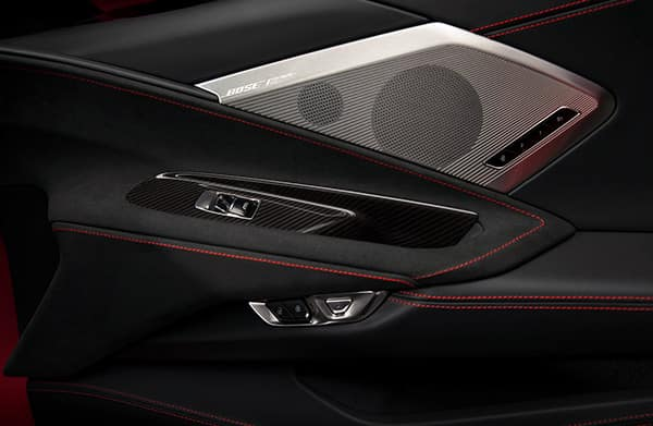 Chevrolet 2020 Corvette Bose Speakers