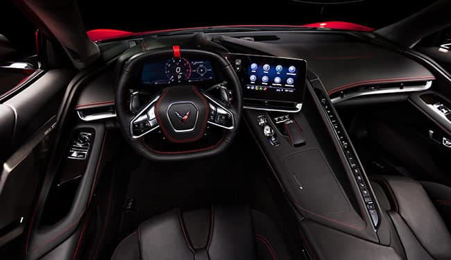 Chevrolet 2020 Corvette Cockpit