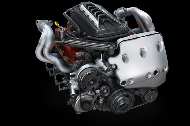 2020 Chevrolet Corvette C8 Engine