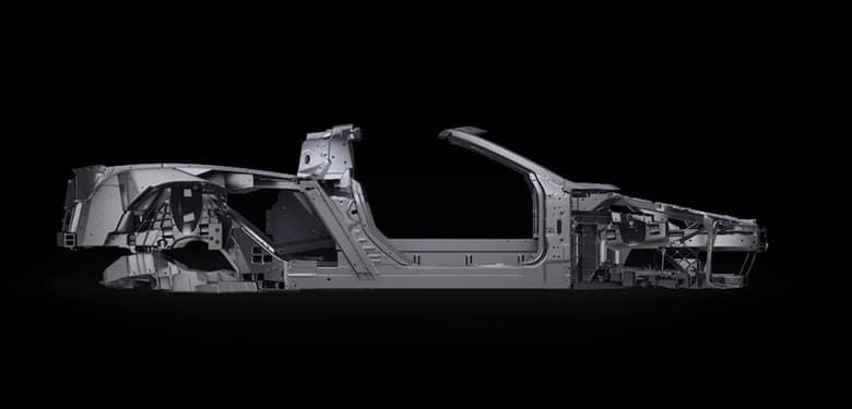 Chevrolet 2020 Corvette Frame