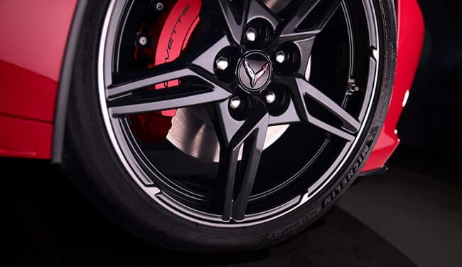 Chevrolet 2020 Corvette Wheel