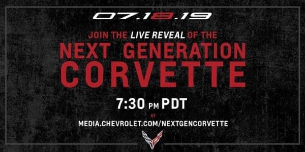 Next Generation Corvette Reveal Banner
