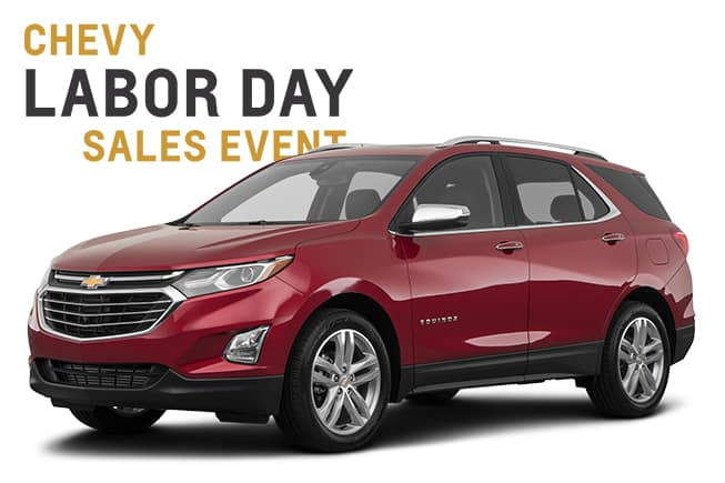 Chevy Labor Day Sales Event Equinox