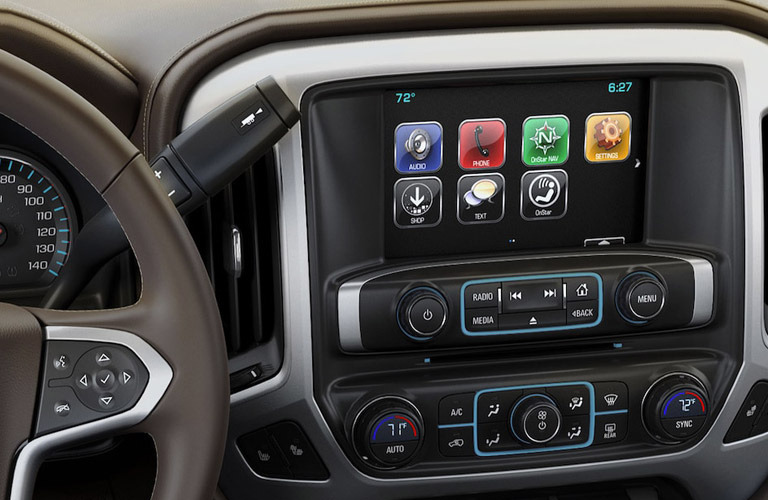 Interior view of 2019 Chevrolet Silverado 1500 LD