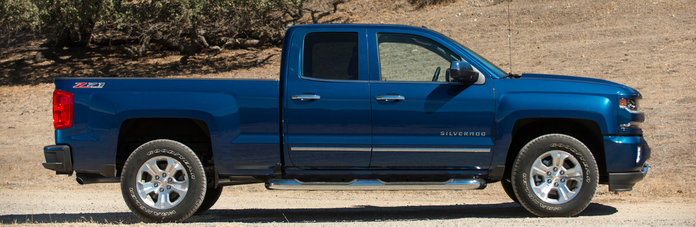 Blue 2019 Chevrolet Silverado 1500 LD