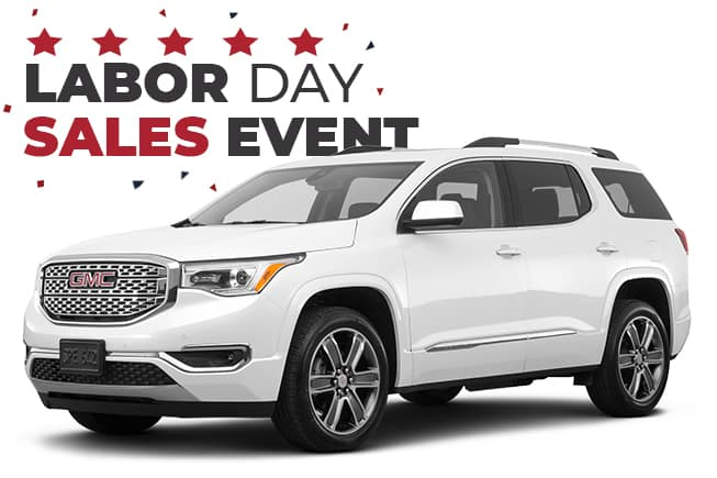 GMC Labor Day Sales Event Acadia