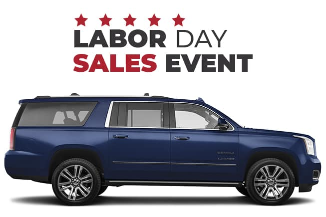 GMC Labor Day Sales Event Yukon