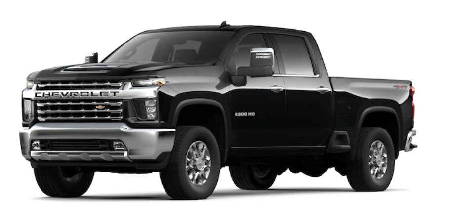 2020 Chevrolet Silverado 2500HD Exterior Colors and Design