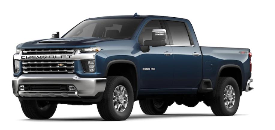 2020 Chevrolet Silverado 2500HD in Northsky Blue Metallic