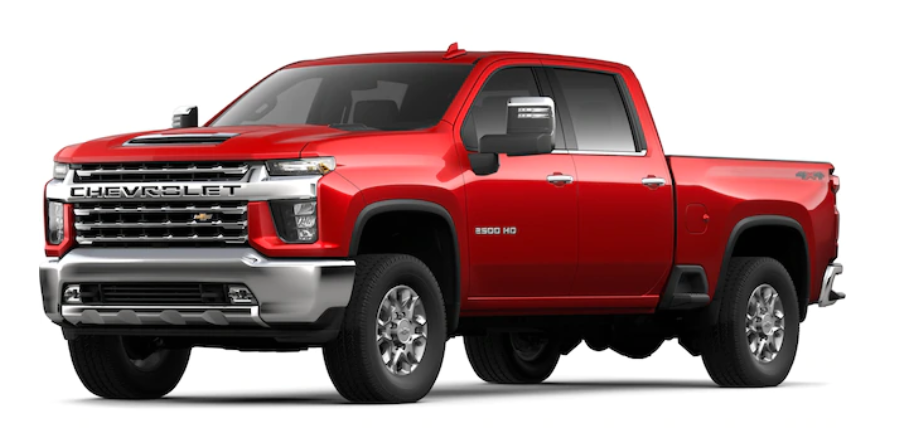 2020 Chevrolet Silverado 2500HD in Red Hot