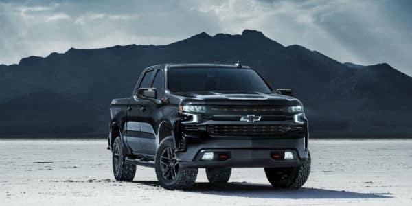 Black 2020 Chevrolet Silverado Midnight Edition