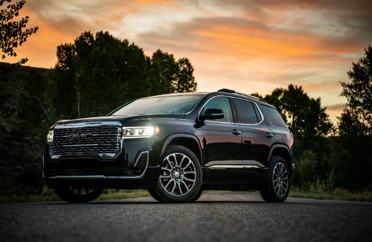 Exterior View of 2020 GMC Acadia
