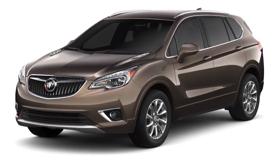 2019 Buick Envision in Bronze Alloy Metallic