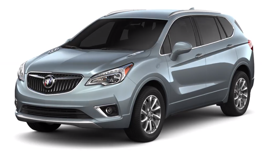 2019 Buick Envision in Satin Steel Metallic