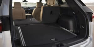 Cargo area in 2019 Chevrolet Blazer