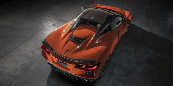 Red 2020 Chevrolet Corvette Convertible
