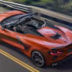 2020 Chevrolet Corvette Convertible driving