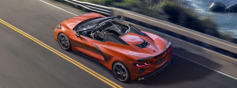 2020 Chevrolet Corvette Convertible driving