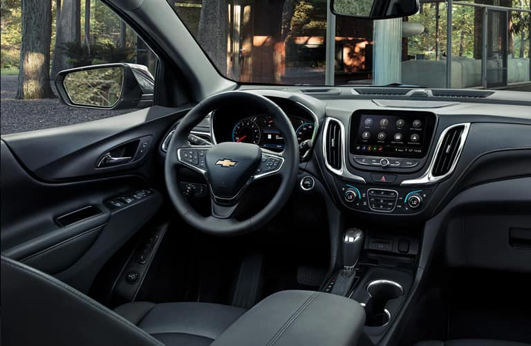 Interior view of 2020 Chevrolet Equinox