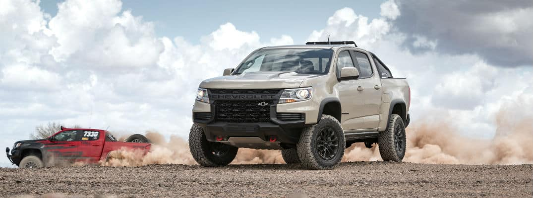 Silver 2021 Chevrolet Colorado