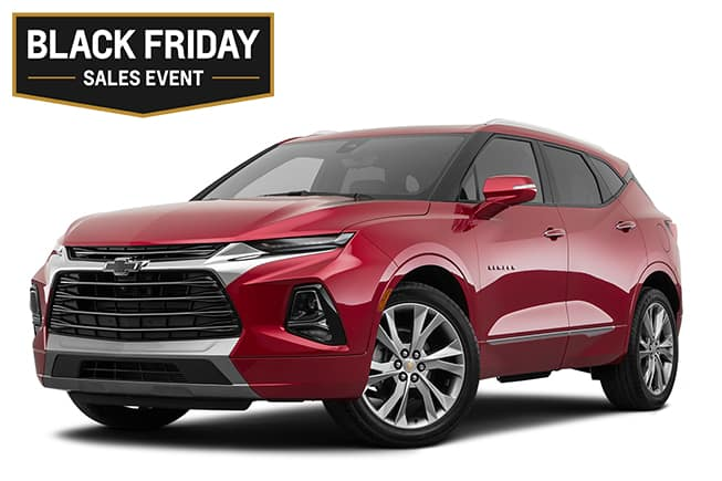 Chevy Blazer LT Black Friday Sales Event