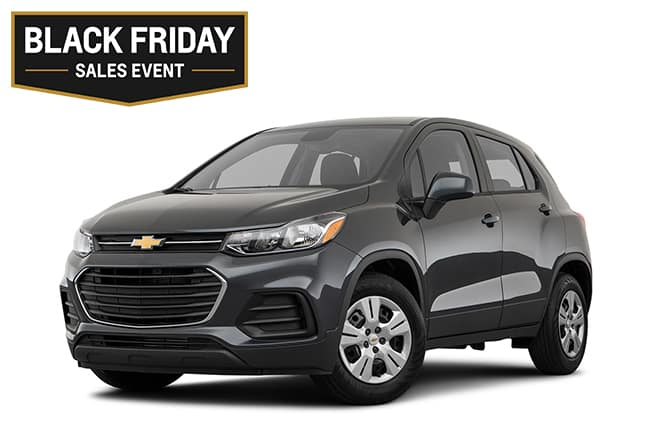Chevy Trax LS Black Friday Sales Event