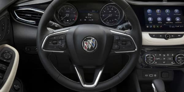 Steering wheel in 2020 Buick Encore GX