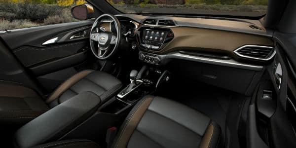 Interior view of 2021 Chevrolet Trailblazer ACTIV