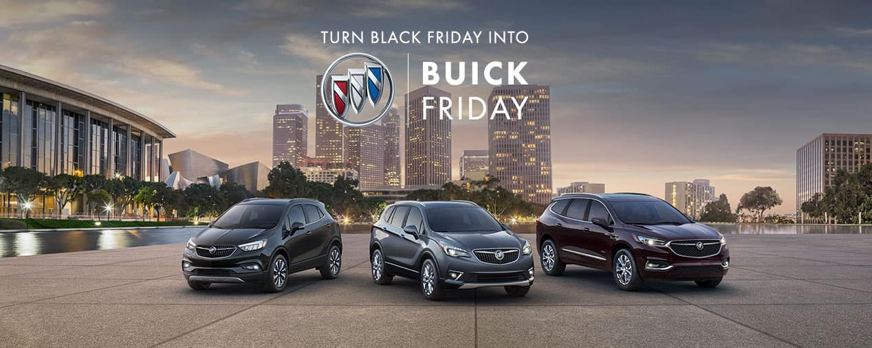 Buick Black Friday Sales Event
