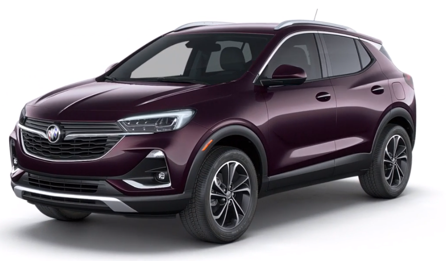 2020 Buick Encore GX in Black Currant Metallic