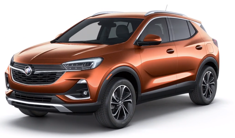 2020 Buick Encore GX in Burnished Bronze Metallic