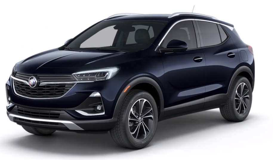 2020 Buick Encore GX in Dark Moon Blue Metallic