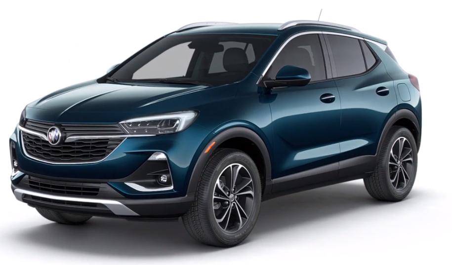 2020 Buick Encore GX in Deep Azure Metallic