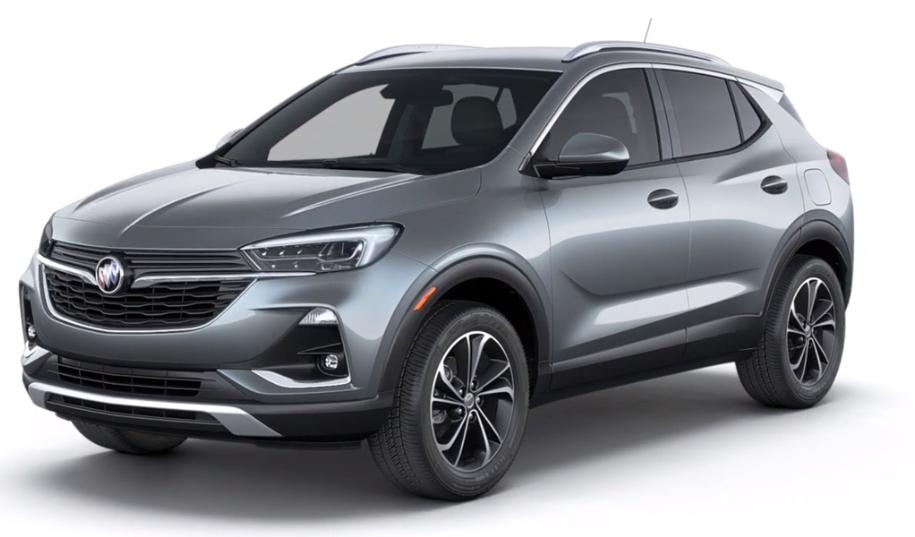 2020 Buick Encore GX in Satin Steel Metallic
