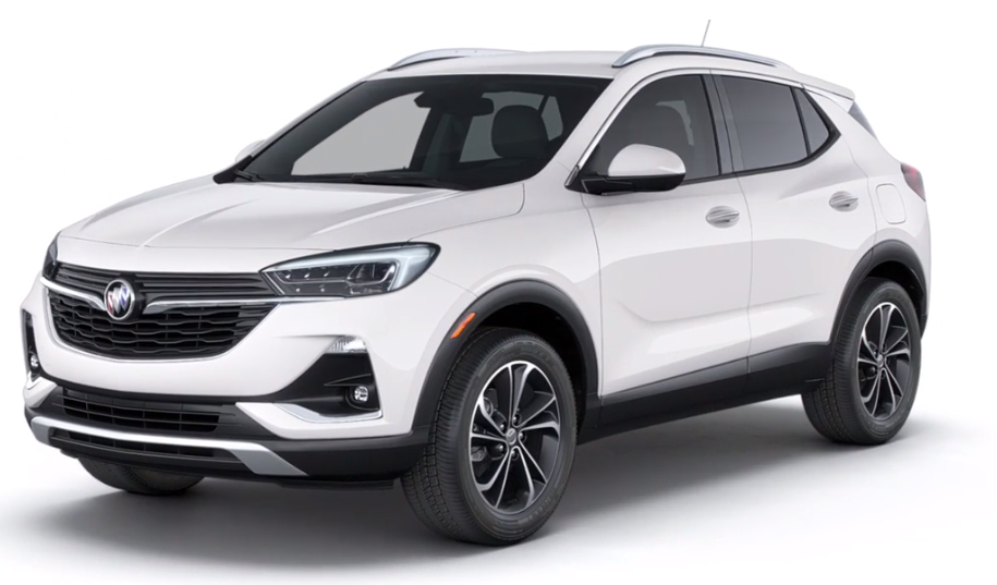 2020 Buick Encore GX in Summit White