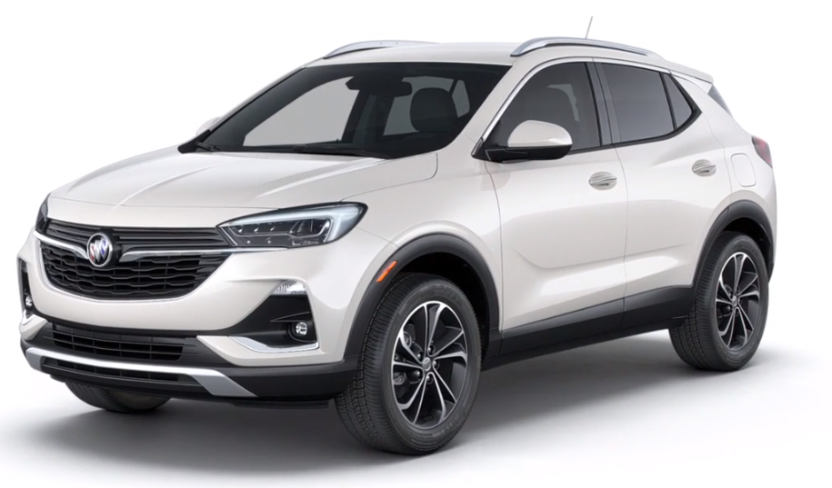 2020 Buick Encore GX in White Frost TriCoat