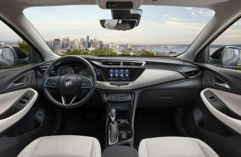 interior view of 2020 Buick Encore GX